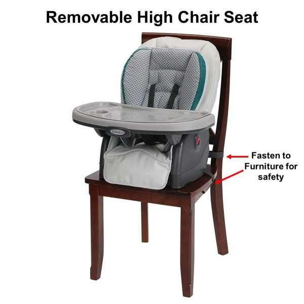 Graco Blossom 6 in 1 Convertible High Chair - Removable Seat