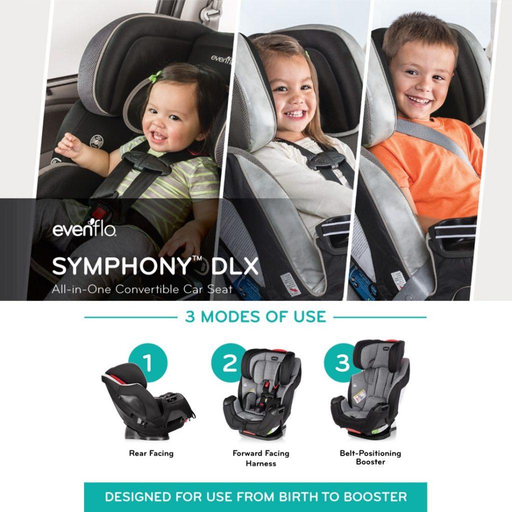 Evenflo Symphony Convertible Car Seat