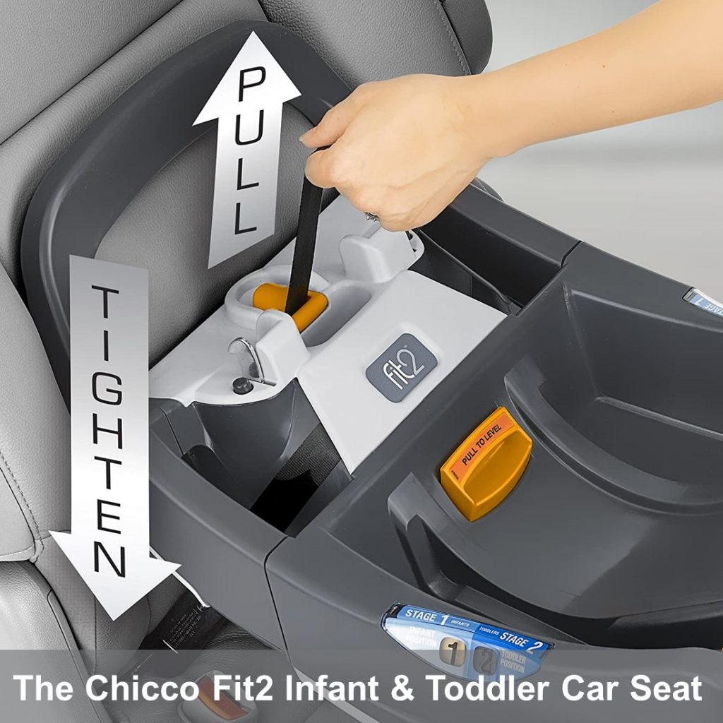Chicco Fit2 Infant & Toddler Car Seat - Easy To Install and Setup