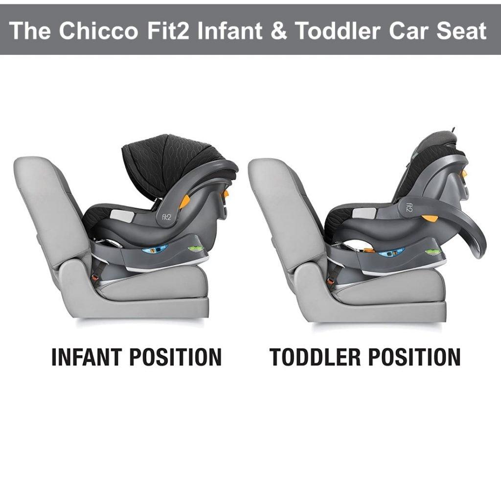 Chicco Fit2 Infant & Toddler Car Seat - Infant n Toddler Position