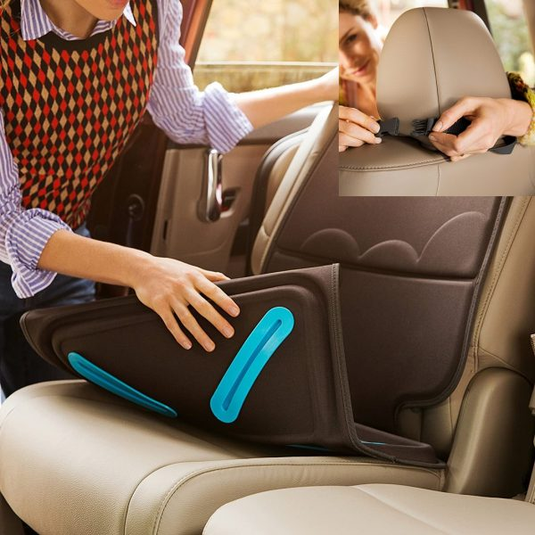 Munchkin Brica Elite Seat Guardian Car Seat Protector - Easy to Install