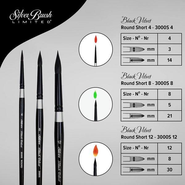 Silver Brush SLM- Brush Specs