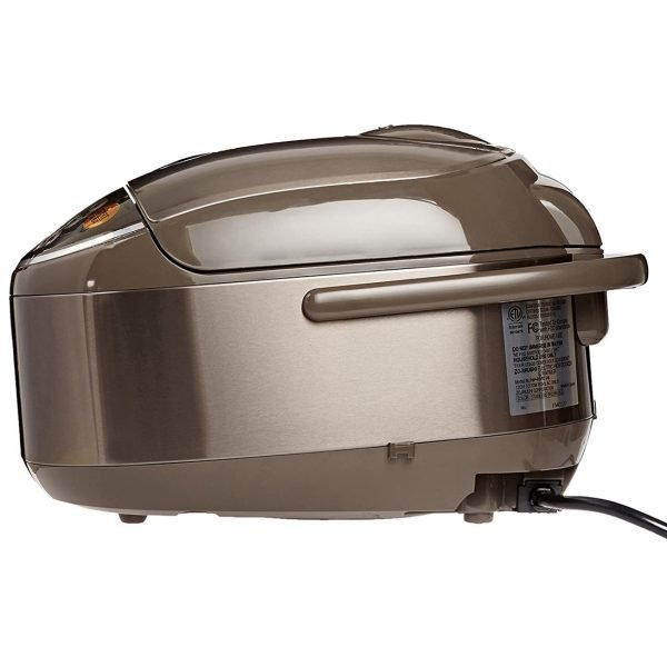 Zojirushi NP-NVC18 Induction Heating Pressure Cooker and Warmer (Back View)