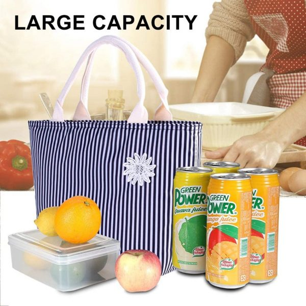 VARANO Insulated Lunch Bag Lunch Box for Women - Large Capacity