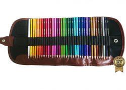 Amazrock Watercolor Pencils Set – 36 Colors (Soft Core Special Edition) | Water Soluble Artist Colored Pencils