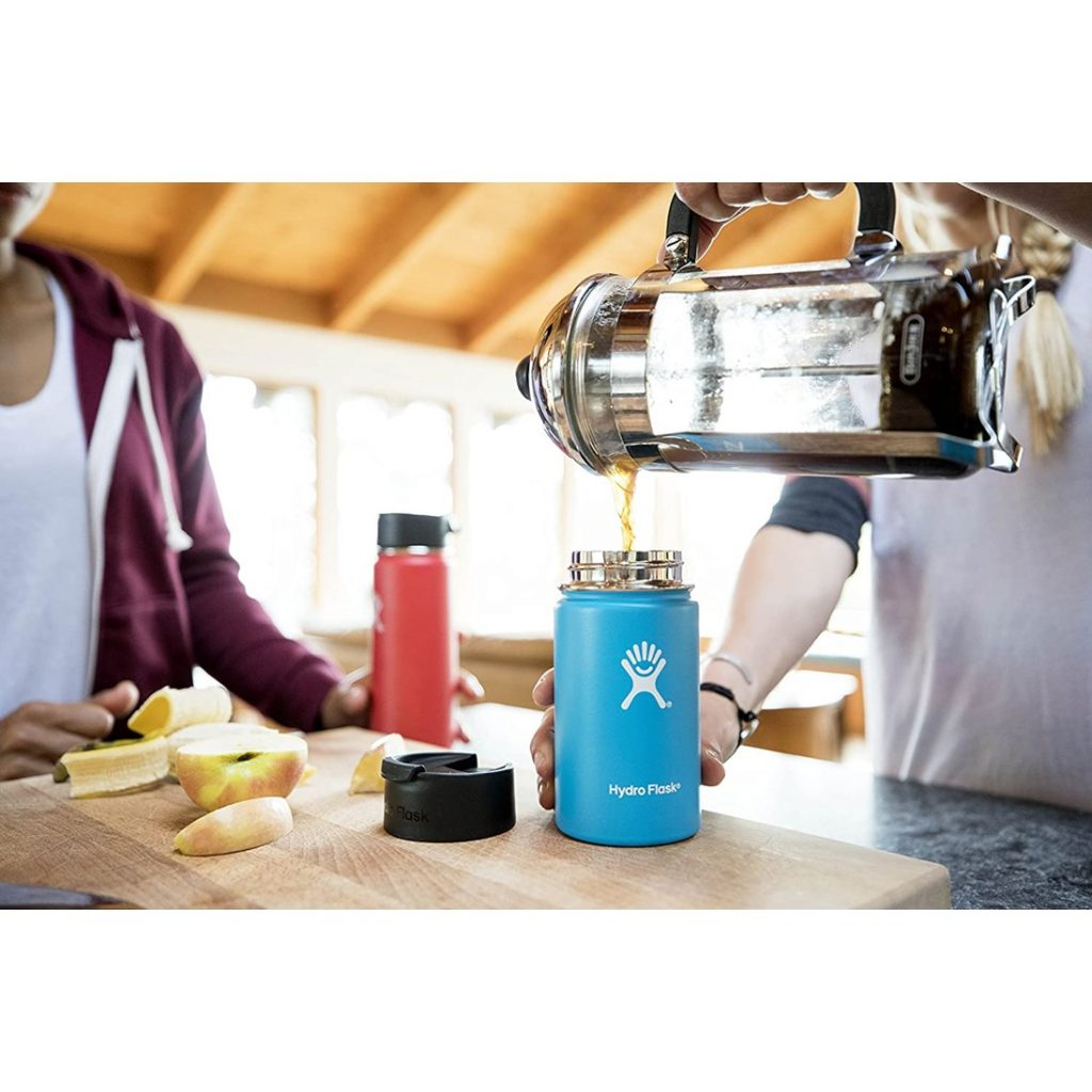 Hydro Flask Travel Coffee Flask - Blue (Outdoor Lifestyle)