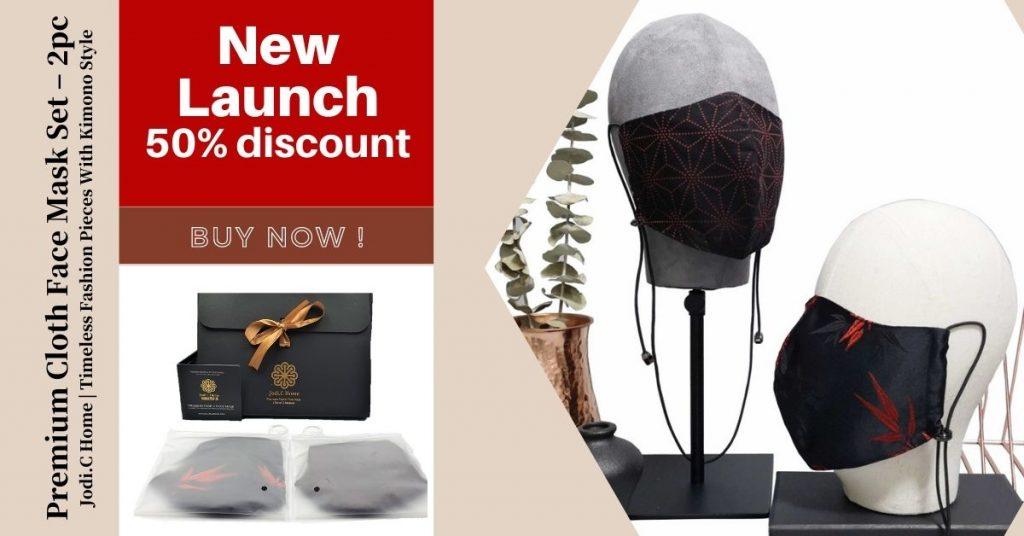 Jodi.C Home Premium Face Mask Set New Launch Buy Registration - Amazrock Brands