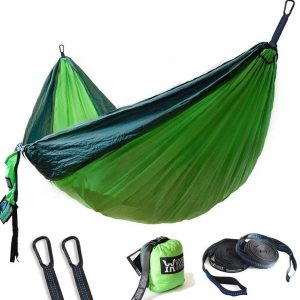 Winner Outfitters Double Camping Hammock - Lightweight Nylon Portable Hammock